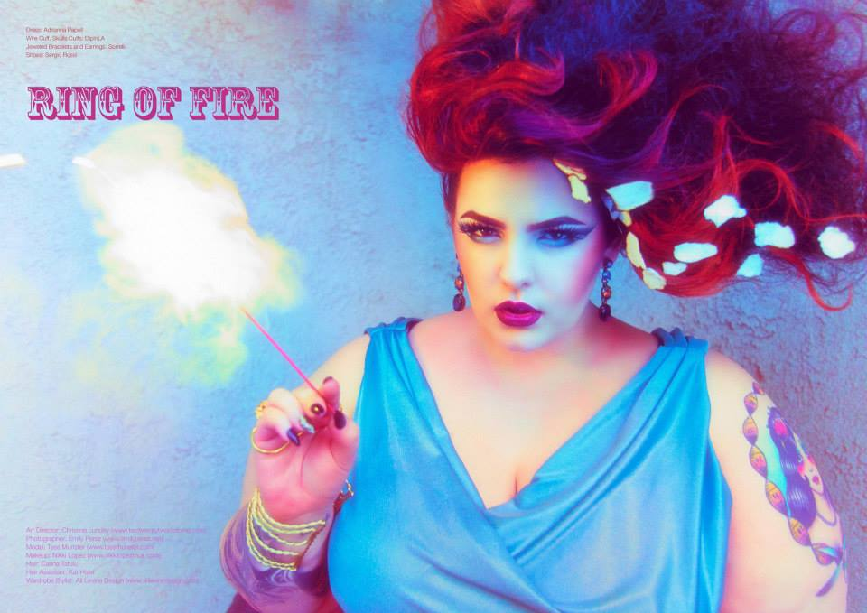 2abb15a4524 Tess Holliday Empress Tarot Card